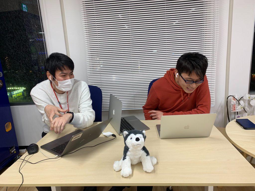 English Meetup参加中